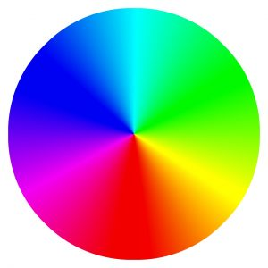 color wheel that the color blind don't see