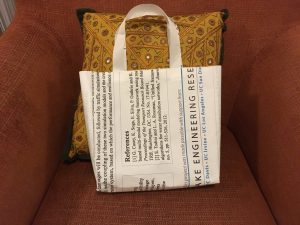 Conference poster tote bag