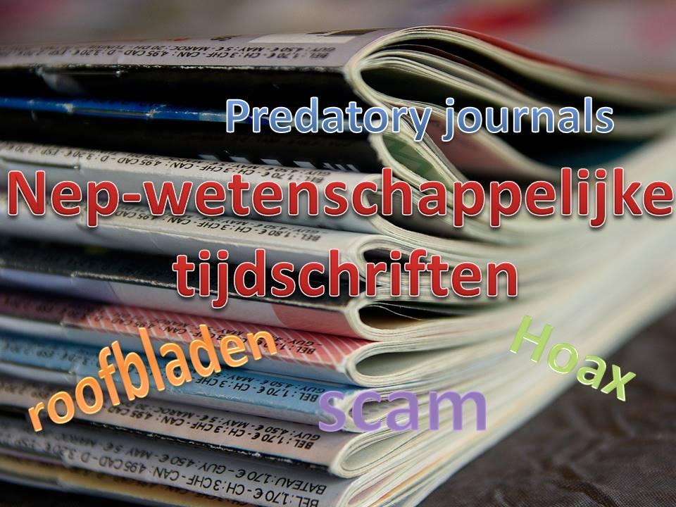 nep-wetenschappelijke tijdschriften